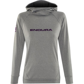 Endura SingleTrack Capuchon Jas Dames, grey